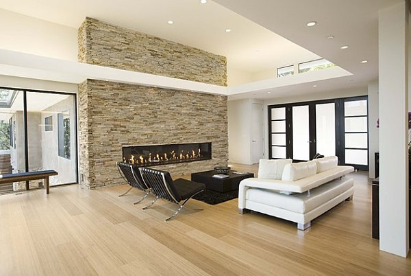 Contemporary Living Room Flooring 10 Eco Friendly Renovations to Make at Home