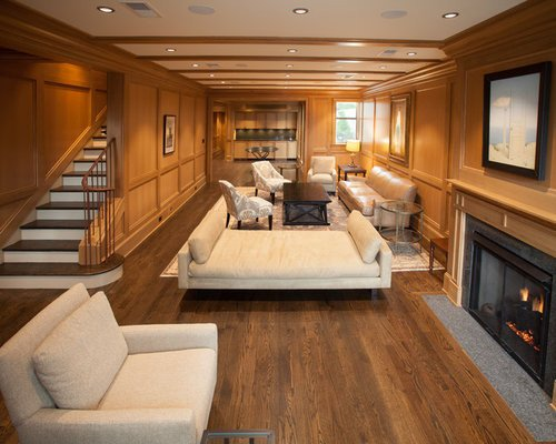 Contemporary Living Room Flooring Red Oak Flooring