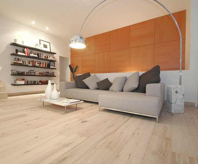 Contemporary Living Room Flooring Wide Plank Wood Floors In Living Rooms Contemporary Living