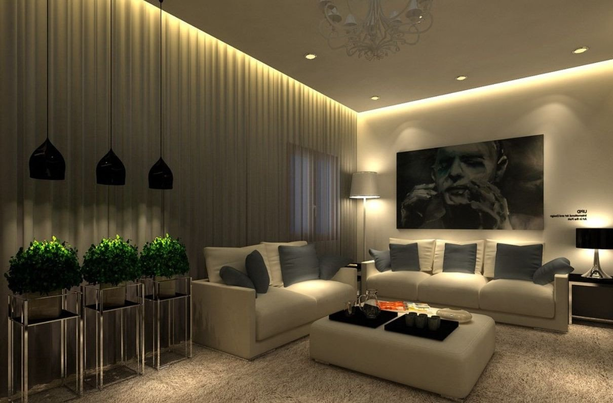 Contemporary Living Room Lights Best Living Room Designs Ideas & Decors for Home