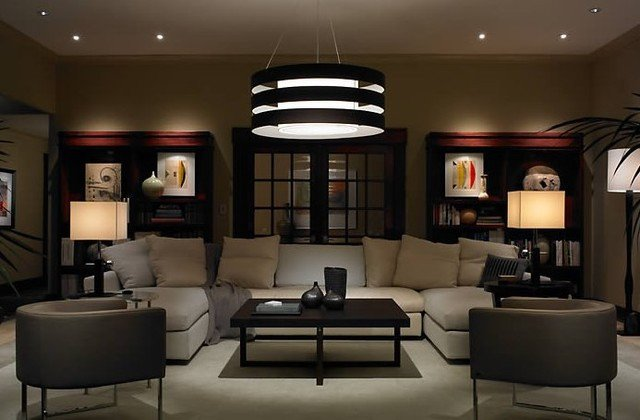 Contemporary Living Room Lights Contemporary and Modern Lighting Modern Living Room