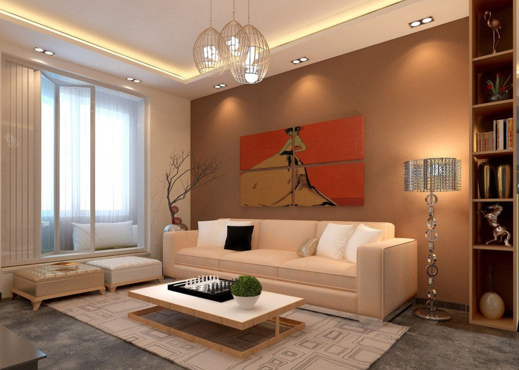 Contemporary Living Room Lights Living Room Lighting Ideas