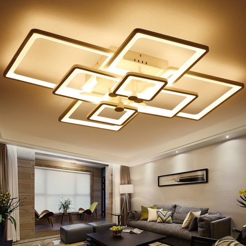 Contemporary Living Room Lights Surface Mounted Light Modern Led Ceiling Lights for Living