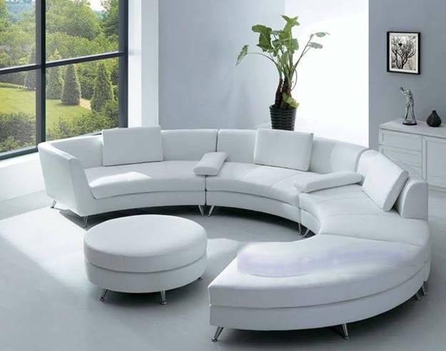 Contemporary Living Room sofas 20 Modern Living Room Designs with Stylish Curved sofas