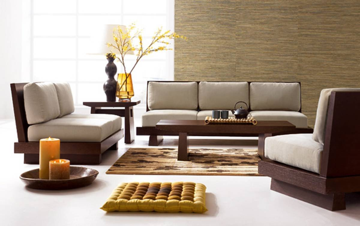 Contemporary Living Room sofas 27 Excellent Wood Living Room Furniture Examples