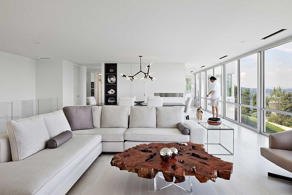 Contemporary Living Room Tables 30 Live Edge Coffee Tables that Transform the Living Room