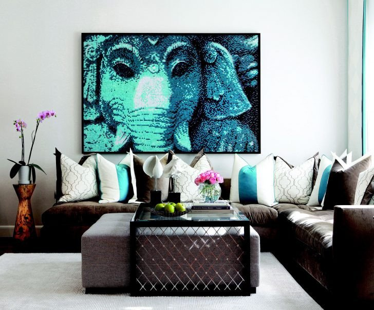 Contemporary Living Room Turquoise 39 Nice Turquoise Living Room Motif Decortez