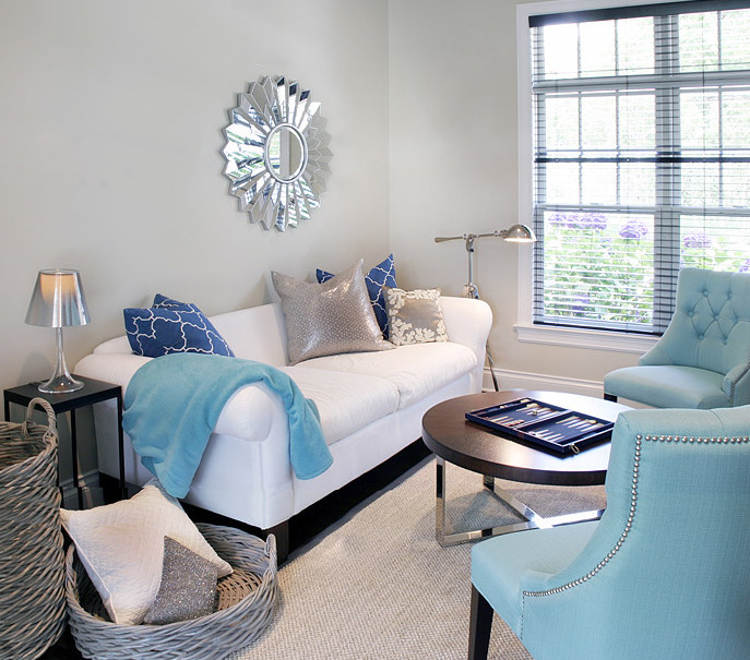 Contemporary Living Room Turquoise Turquoise Lamps Contemporary Living Room Lonny Magazine