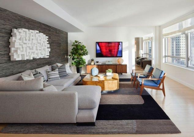 Contemporary Living Room Wallpaper 16 Creative 3d Living Room Wallpaper Ideas that You Should