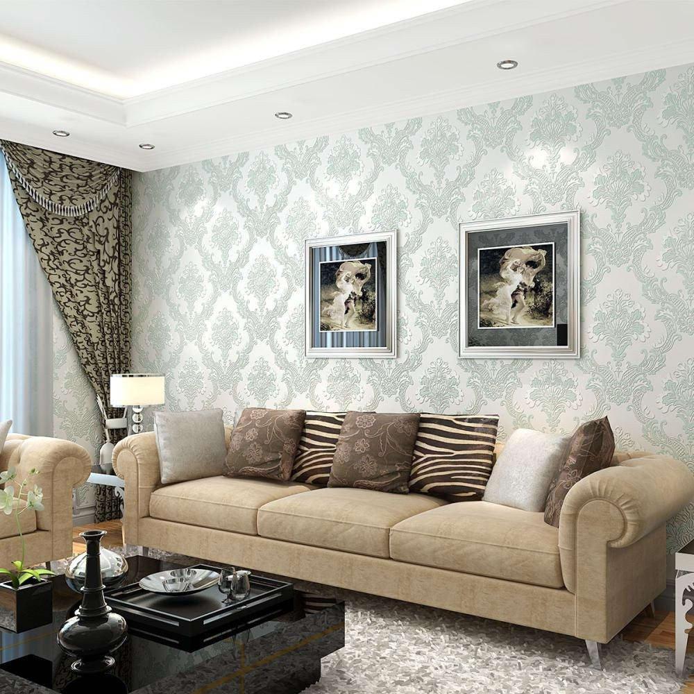 Contemporary Living Room Wallpaper Contemporary Wallpaper Living Room Room Design Ideas Best