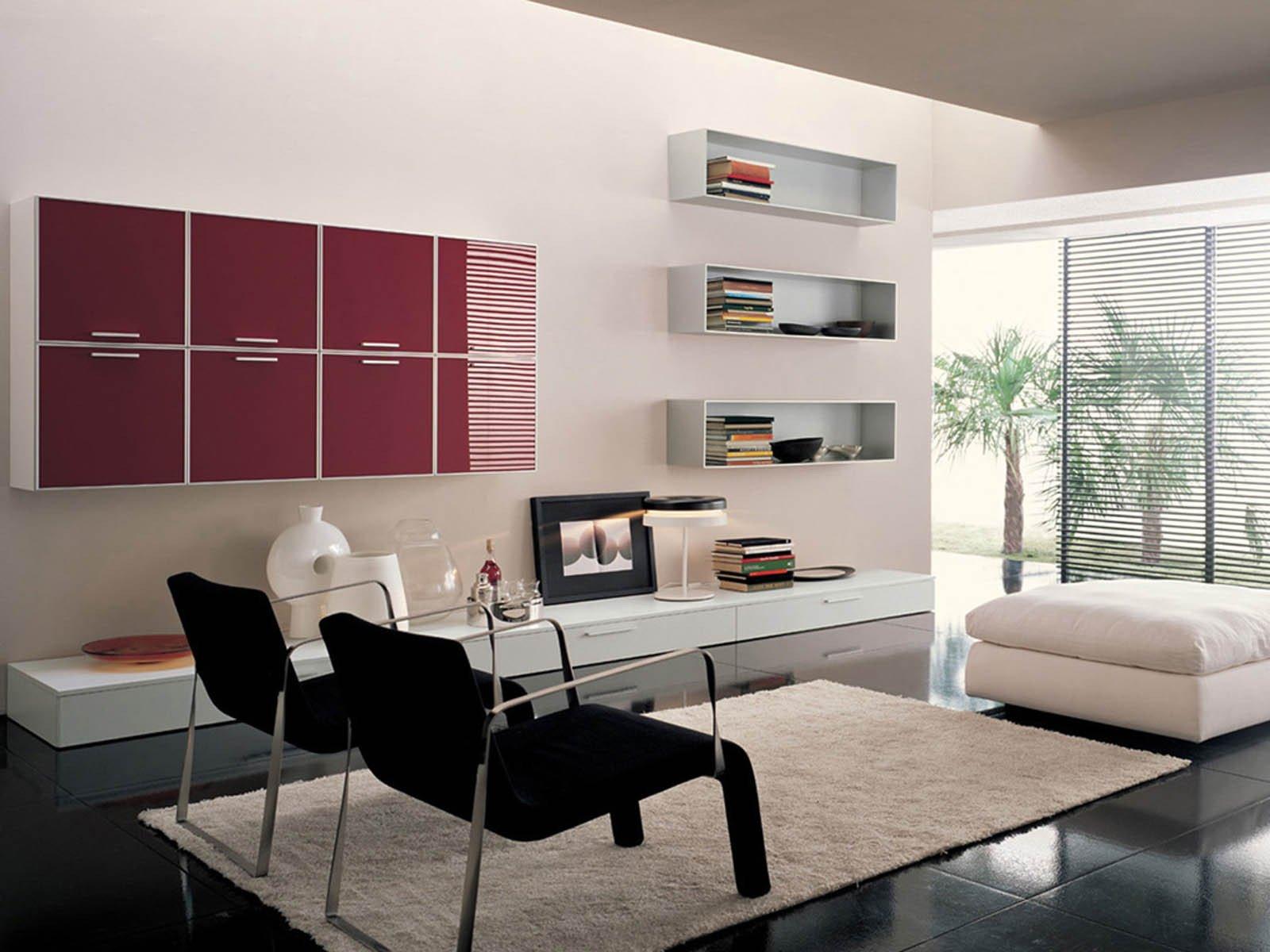 Contemporary Living Room Wallpaper Wallpapers Modern Living Room S