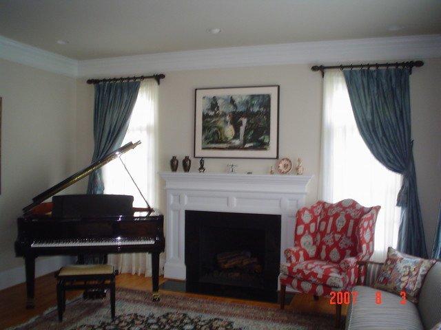 Contemporary Living Room Window Treatments Beautiful Window Treatments