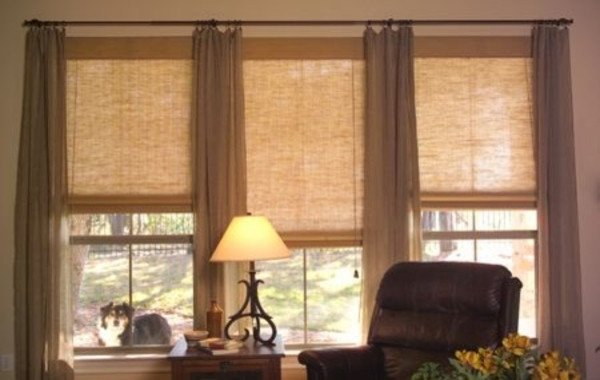 Contemporary Living Room Window Treatments Living Room Categories Frameless Wall Mirror