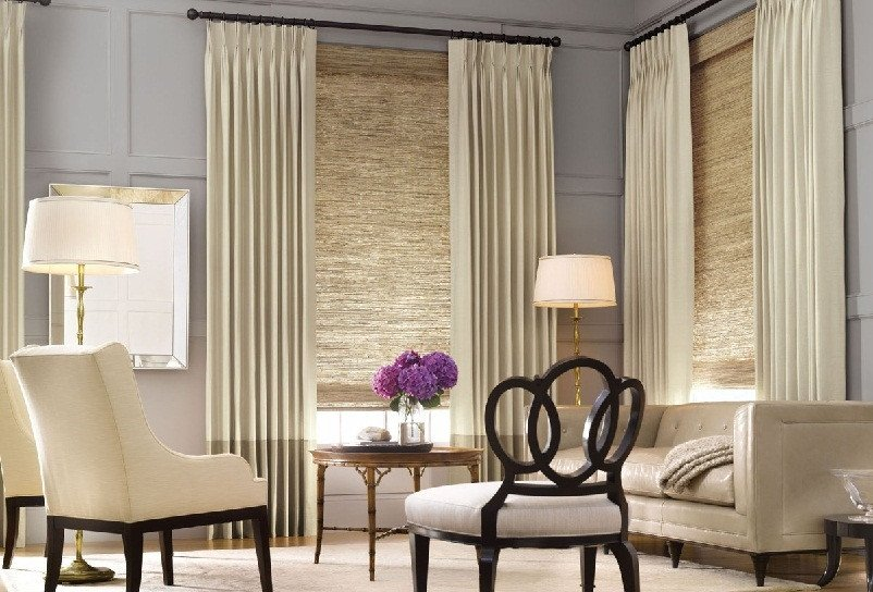 Contemporary Living Room Window Treatments Modern Living Room Blinds Zion Star