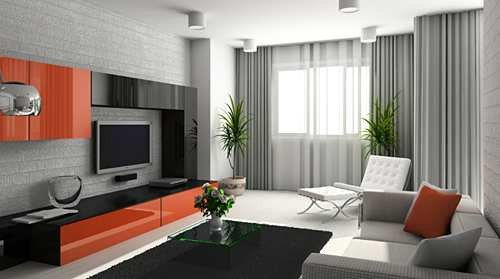 Contemporary Living Room Window Treatments Window Blinds Tips Blog Archive Living & Family Room