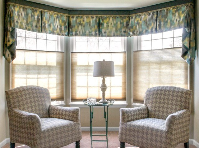 Contemporary Living Room Window Treatments Window Treatments Contemporary Living Room New York