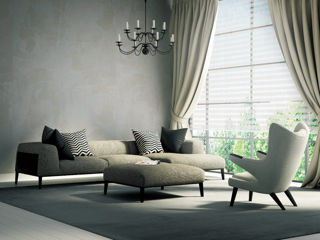 Contemporary Living Room Window Treatments Window Treatments for Modern Living Room Zion Star
