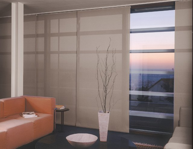 Contemporary Living Room Window Treatments Window Treatments Modern Living Room Miami by