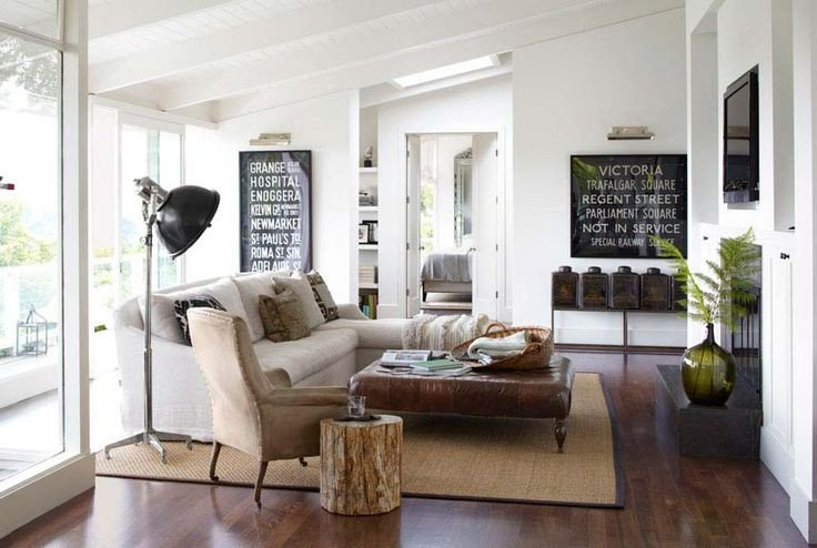 Contemporary Rustic Living Room 25 Homely Elements to Include In A Rustic Décor