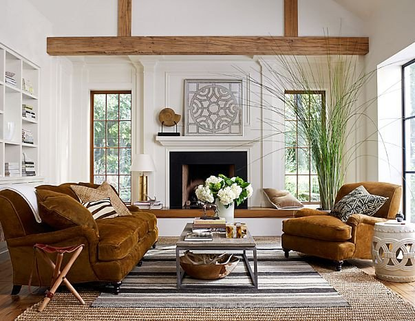 Contemporary Rustic Living Room Modern Living Room with Rustic Accents Several Proposals