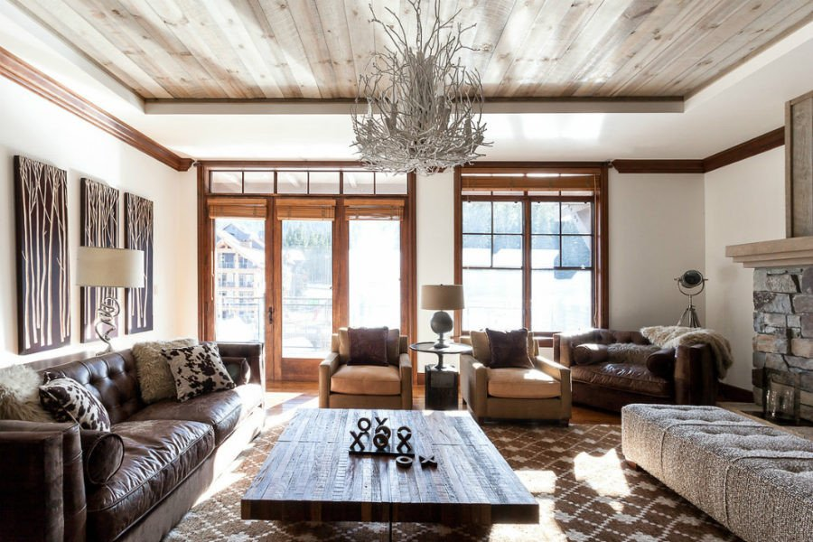 Contemporary Rustic Living Room Rustic Modern Decor for Country Spirited sophisticates