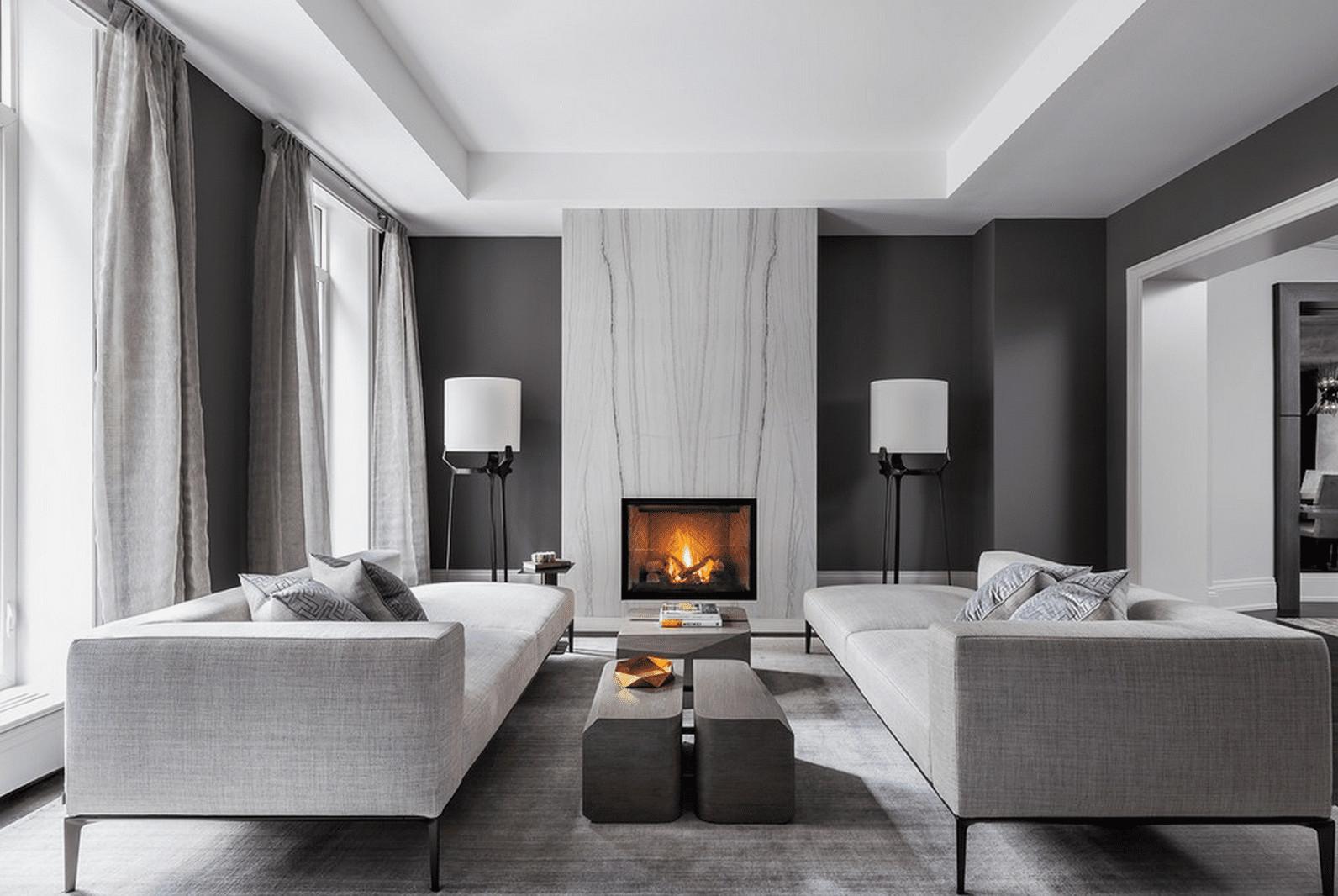 Contemporary Style Living Room 21 Modern Living Room Design Ideas