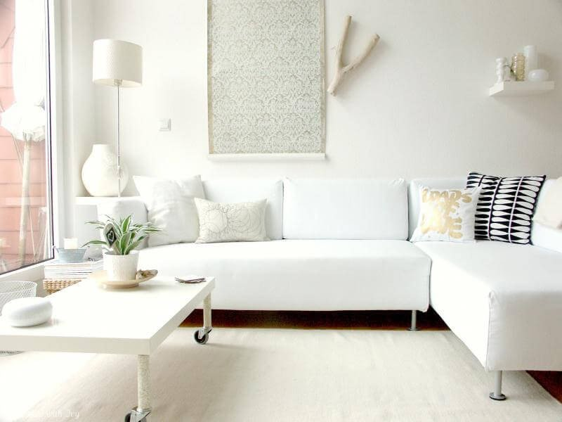 Contemporary White Living Room 15 Paint Color Design Ideas that Will Liven Up Your Living