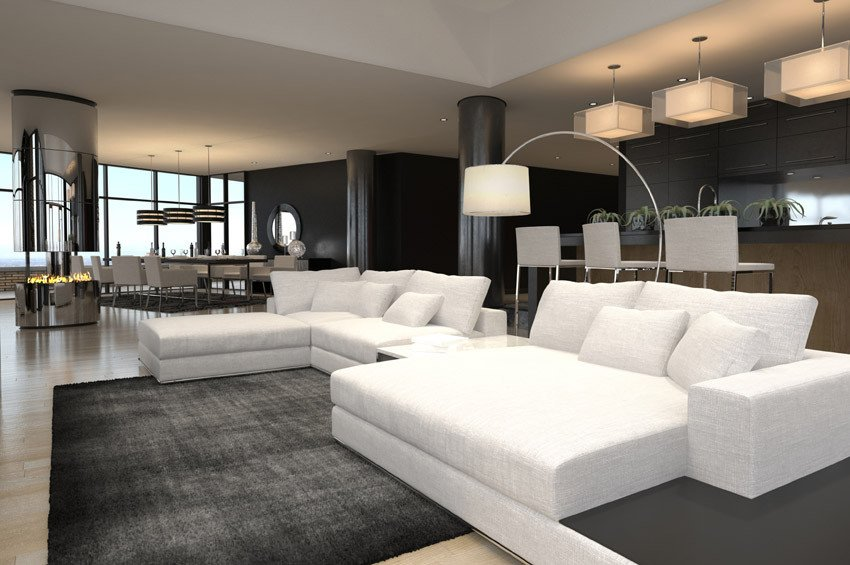 Contemporary White Living Room 60 Stunning Modern Living Room Ideas S Designing Idea