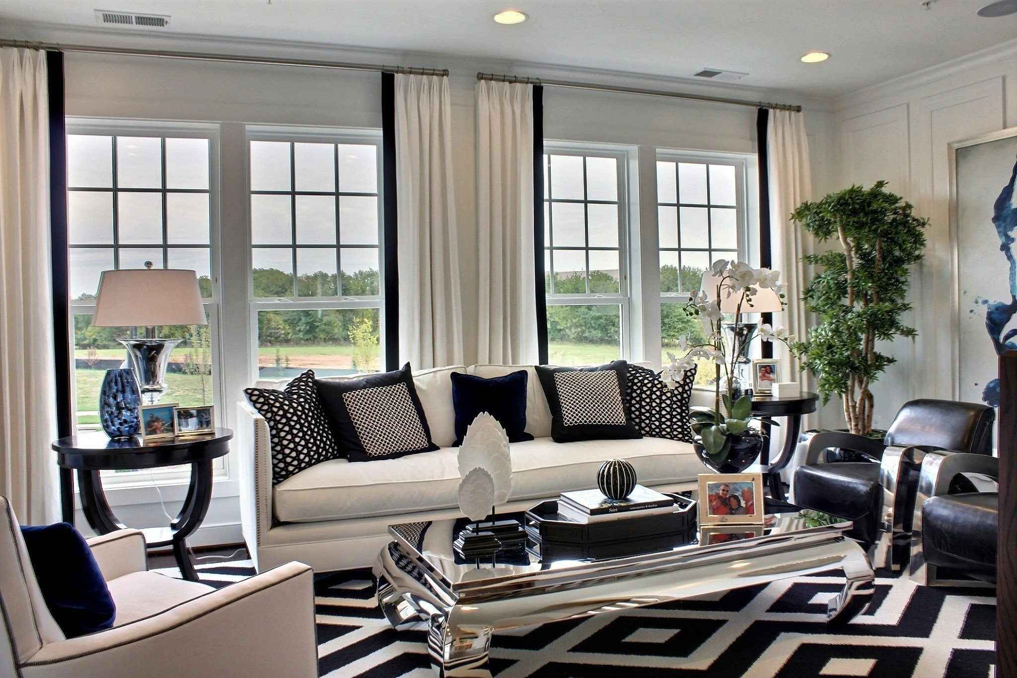 Contemporary White Living Room Best Of Black and White Modern Living Rooms