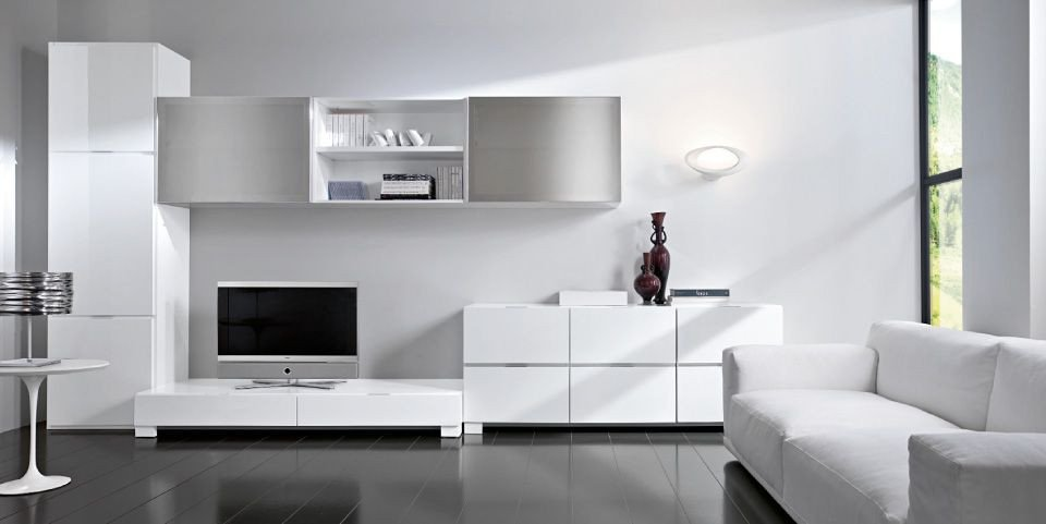 Contemporary White Living Room Simply White Living Room Ideas Abpho