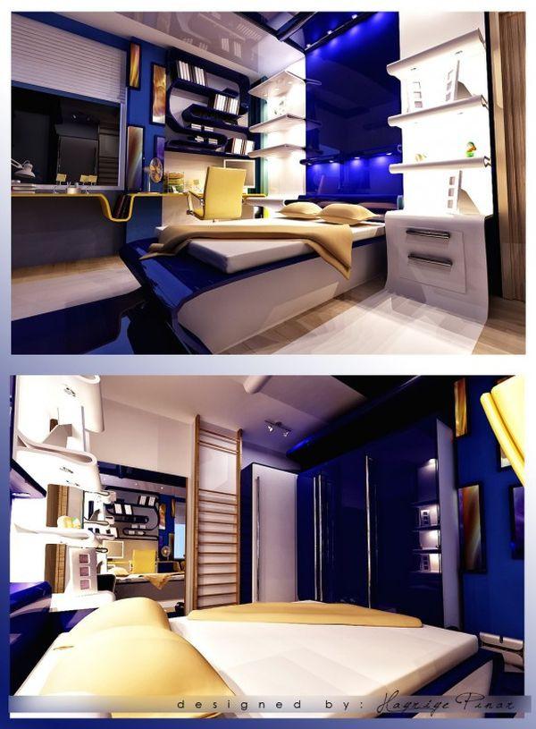 Cool Bedroom Furniture for Teenagers 40 Teenage Boys Room Designs We Love