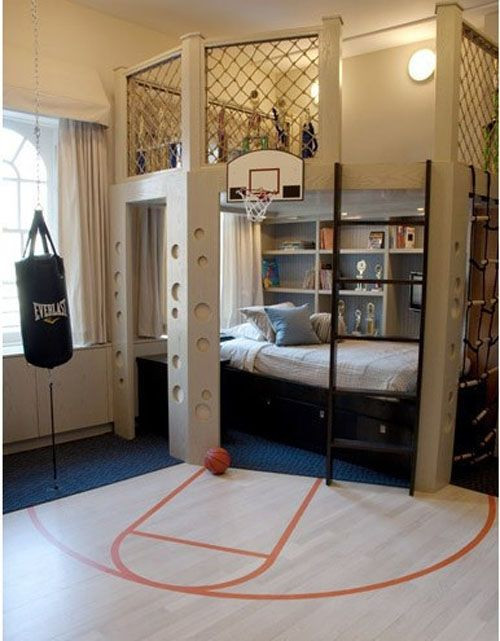 Cool Boy Bedroom Ideas Cool Boys Room Idea with Modern Bunk Bed