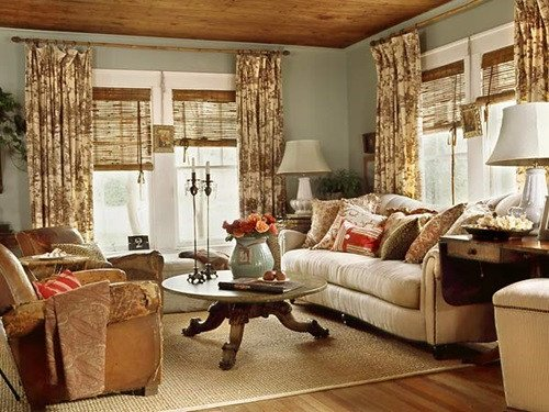 Cottage Living Roomdecorating Ideas Cottage Living Room Curtain Ideas Interior Design
