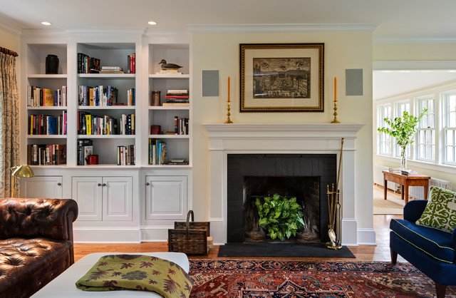 Cottage Traditional Living Room Cottage Traditional Living Room New York by Crisp