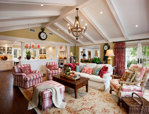 Country Chic Living Room Decor 20 Dashing French Country Living Rooms House Decorators