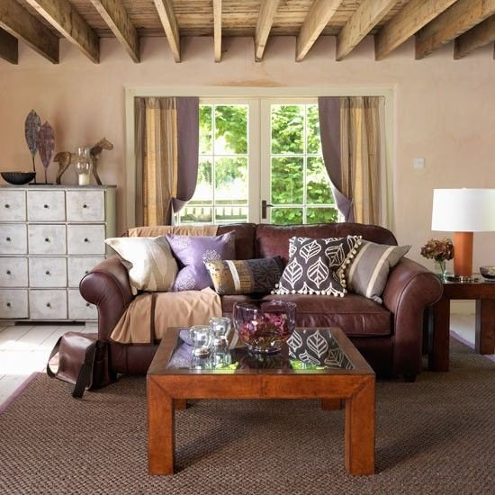 Country Chic Living Room Decor Country Style Decorating Basement