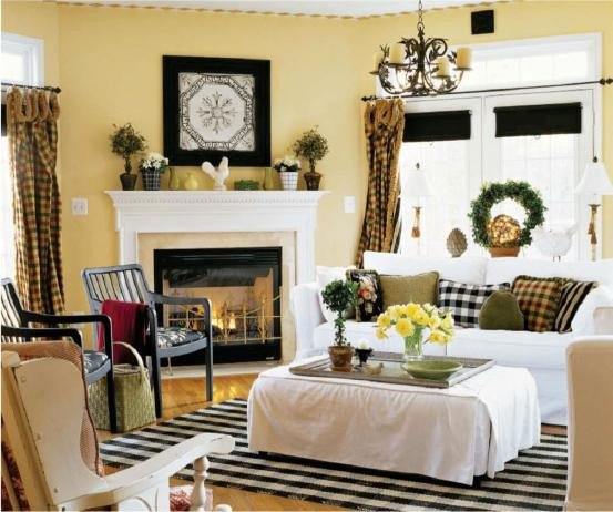 Country Chic Living Room Decor Country Style Living Room Decor Home Decorating Ideas