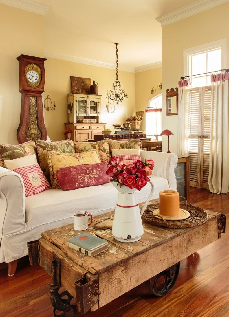 Country Chic Living Room Decor French Country Style Magazine Photo Shoot Stacey Steckler