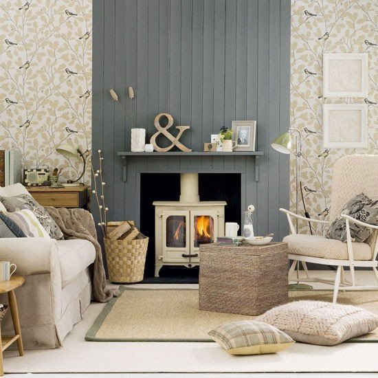 Country Chic Living Room Decor Neutral Country Living Room