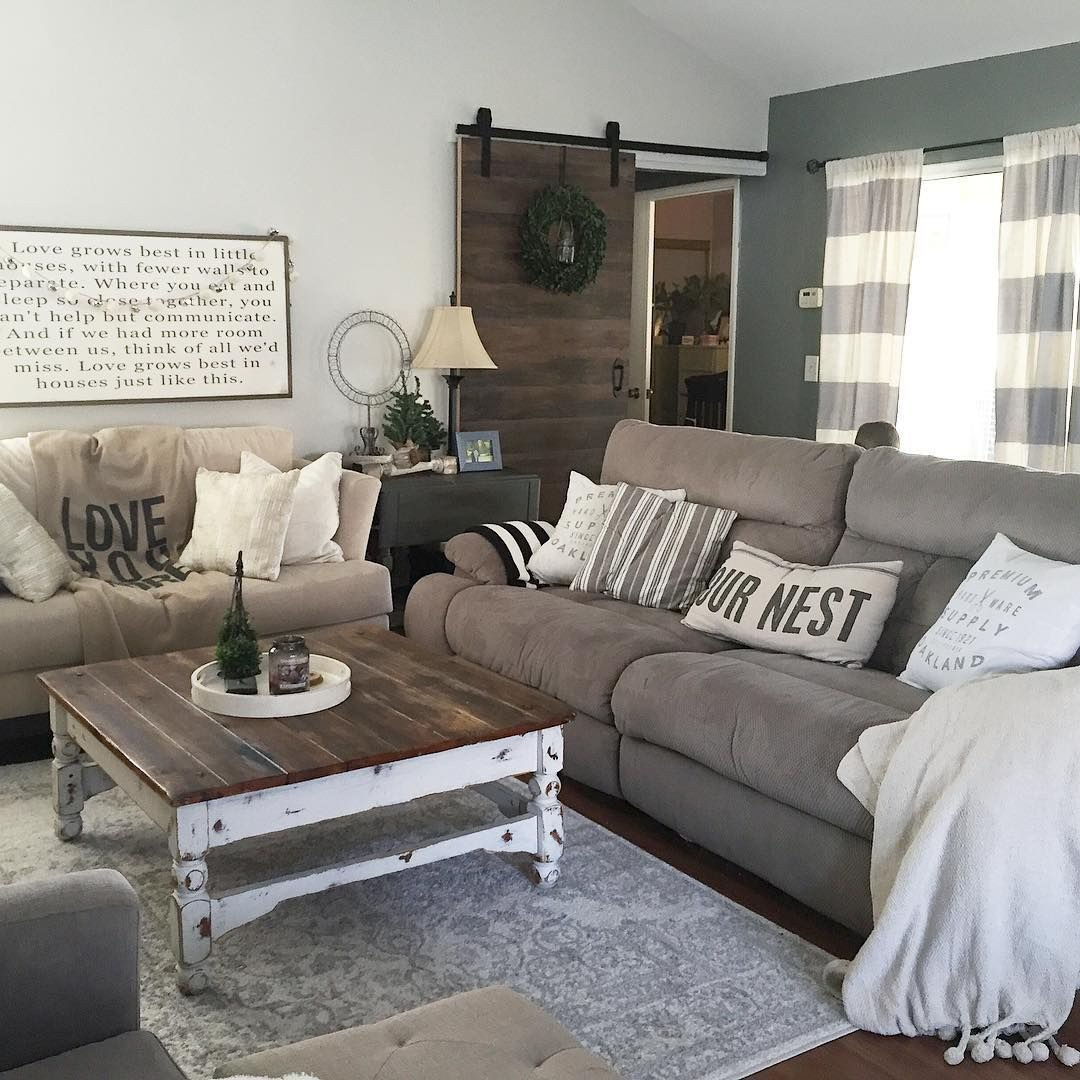 Country Chic Living Room Decor This Country Chic Living Room is Everything Rachel