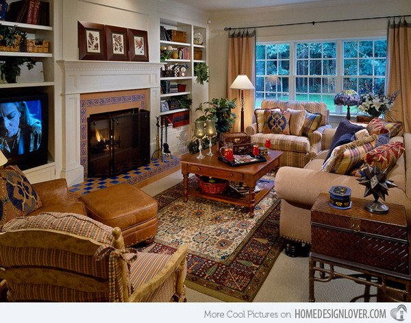 Country Comfortable Living Room 15 Warm and Cozy Country Inspired Living Room Design Ideas