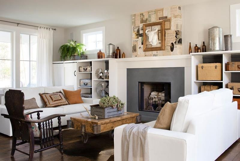 Country Comfortable Living Room 22 Cozy Country Living Room Designs