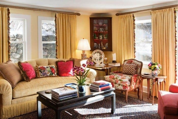 Country Comfortable Living Room Charming French Living Room Style for Your House