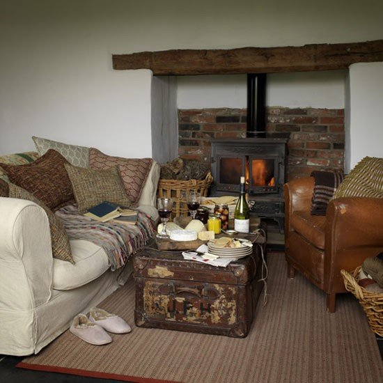 Country Comfortable Living Room fortable Country Living Room