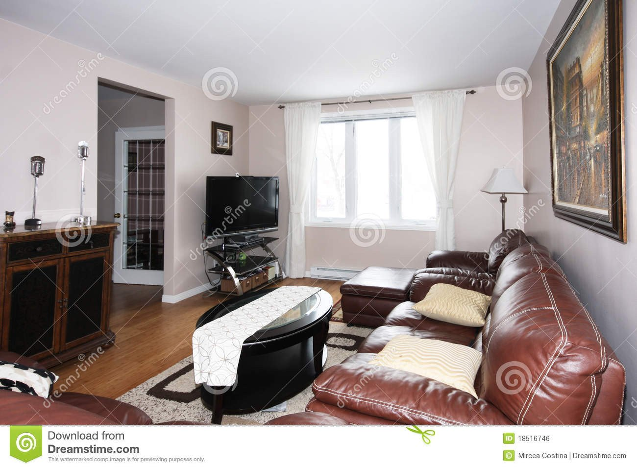 Country Comfortable Living Room fortable Living Room Royalty Free Stock Image Image