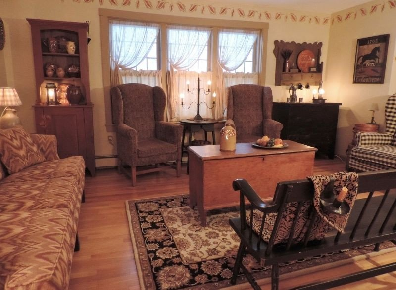 Country Comfortable Living Room I Think Of This as An Old Fashioned Country Living Room