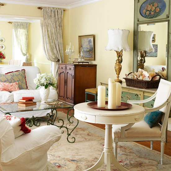 Country Living Room Decor Ideas 2013 Country Living Room Decorating Ideas From Bhg