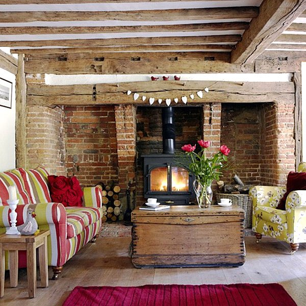 Country Living Room Decor Ideas Country Home Decor with Contemporary Flair
