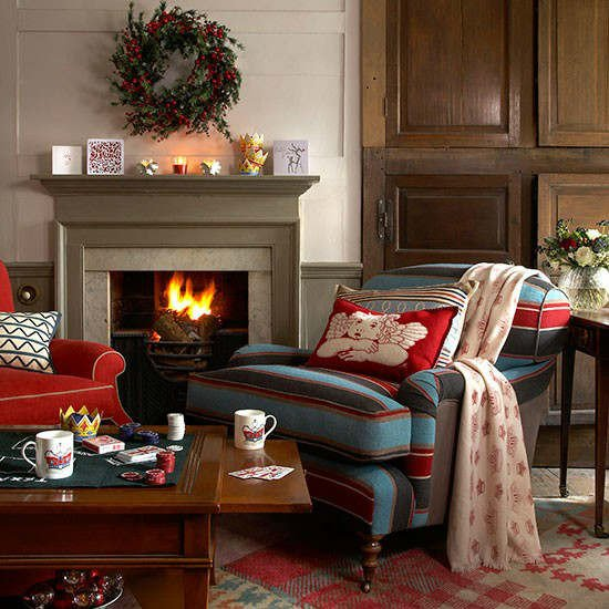 Country Living Room Decorating Ideas 33 Best Christmas Country Living Room Decorating Ideas