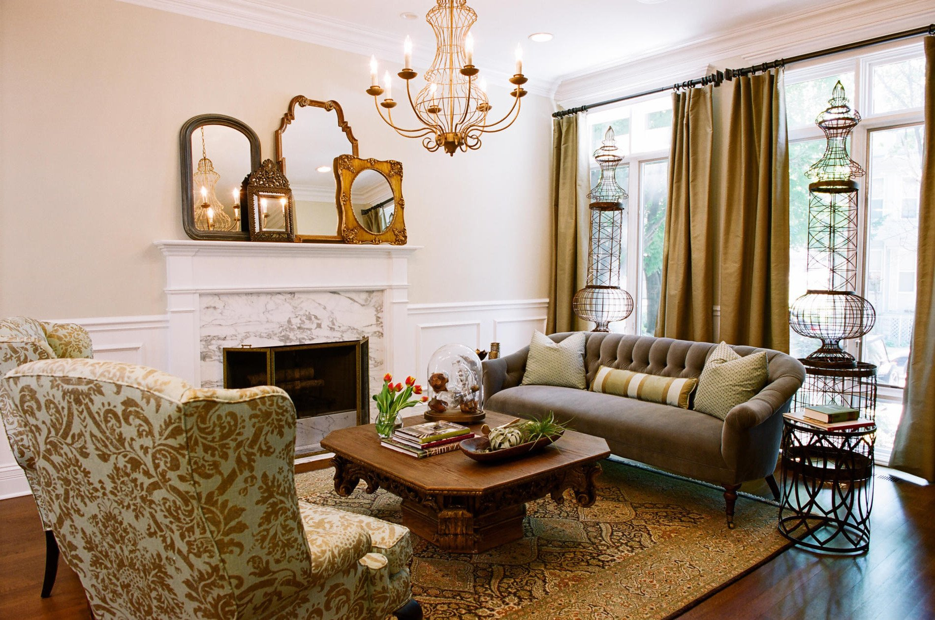 Country themed Living Room Decor Basic Styles Of Interior Designing Part 2